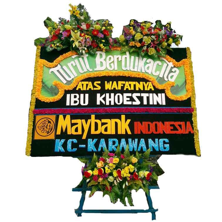 toko karangan bunga papan duka cita Makassar