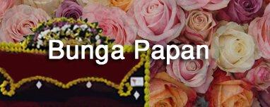Banner Navigasi Bunga Papan