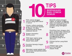 10 Tips Berpakaian Bagi Cowok Gemuk