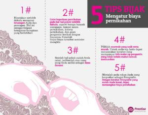 5 Tips Bijak Mengatur Biaya Pernikahan