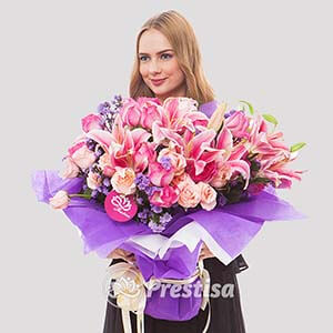 Beli Bunga HAND-BOUQUET-117-3