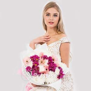 Beli Bunga HAND-BOUQUET-TNG-118-2