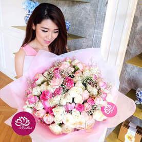 Bouquet Mawar Besar