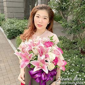 Flower Box Besar di Jakarta