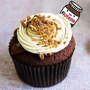 Toko Kue cupcake-nutella