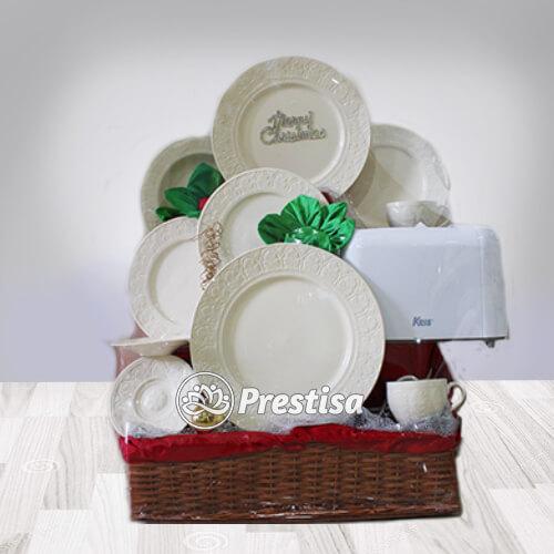 a white set