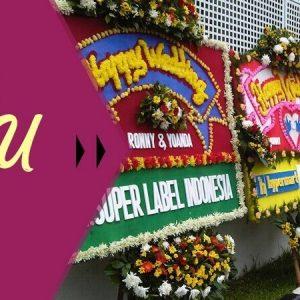 Bunga Papan Wedding Banner Seluruh Indonesia