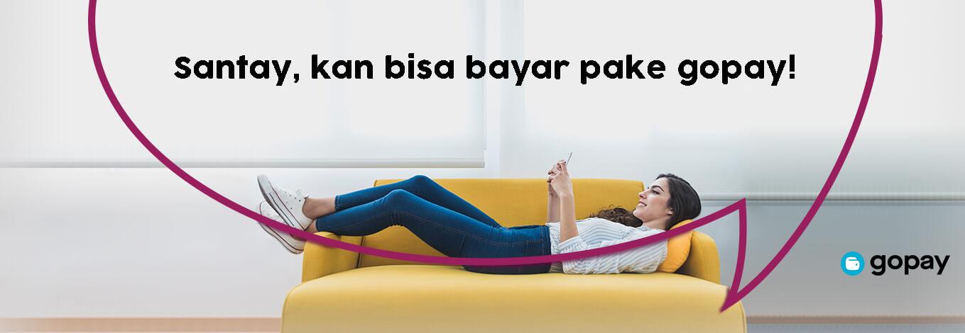 Toko Bunga Jakarta Bayar Pakai Gopay