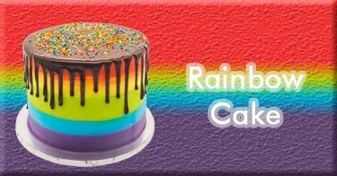 Jual Rainbow Cake