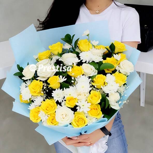 Mawar Kuning Bouquet