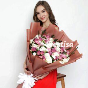 Bouquet Mawar 20-1