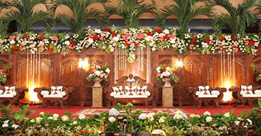 Bunga Dekorasi Pelaminan