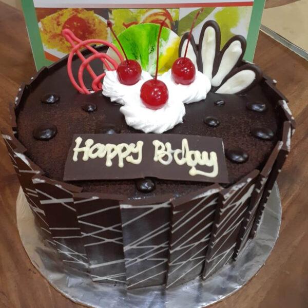 Basic Choco Round Cake Bekasi