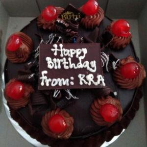 Cherry Choco Cake Bekasi