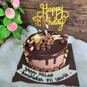 Choco Drip Cake Surabaya