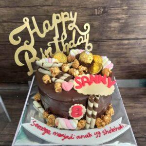 Choco Festive Cake Surabaya