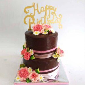 Double Choco Cake Surabaya
