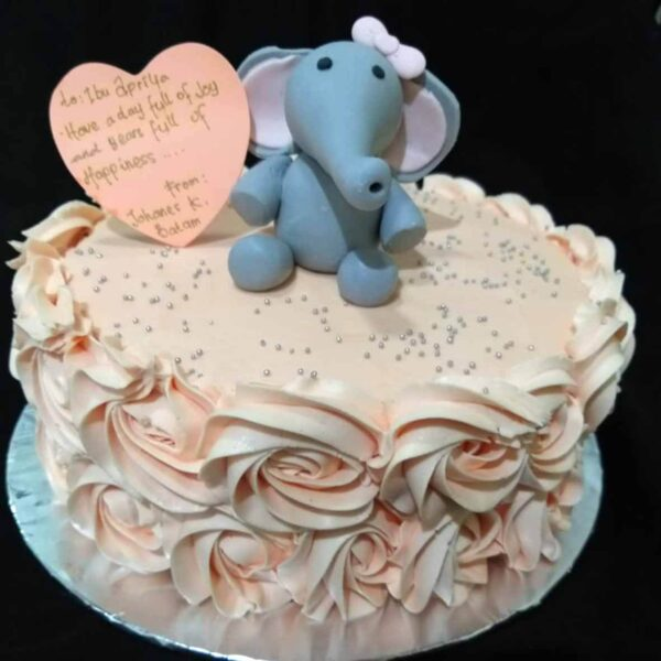 Elephant Cake Bali
