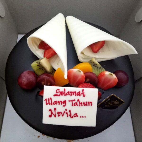 Fruit Choco Cake Palembang