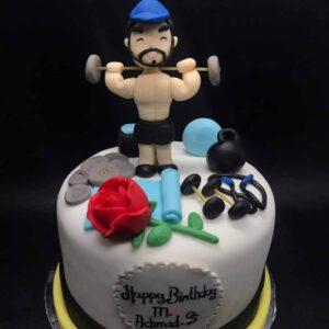 Gym Addict Cake Bandung