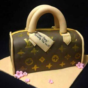 LV Bag Cake Bali