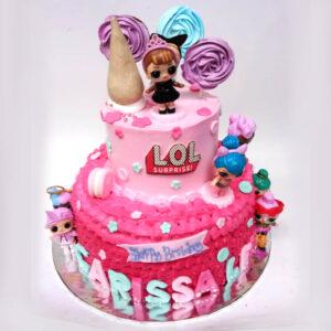 Lol Dolls Cake Tangerang