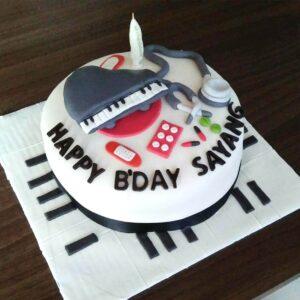 Music Day Cake Surabaya