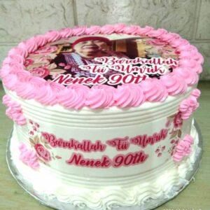 Pink Birthday Cake Bandung