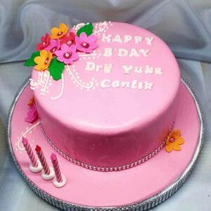 Pink Birthday Cake Bogor