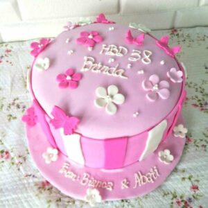 Pink Blossom Cake Bali