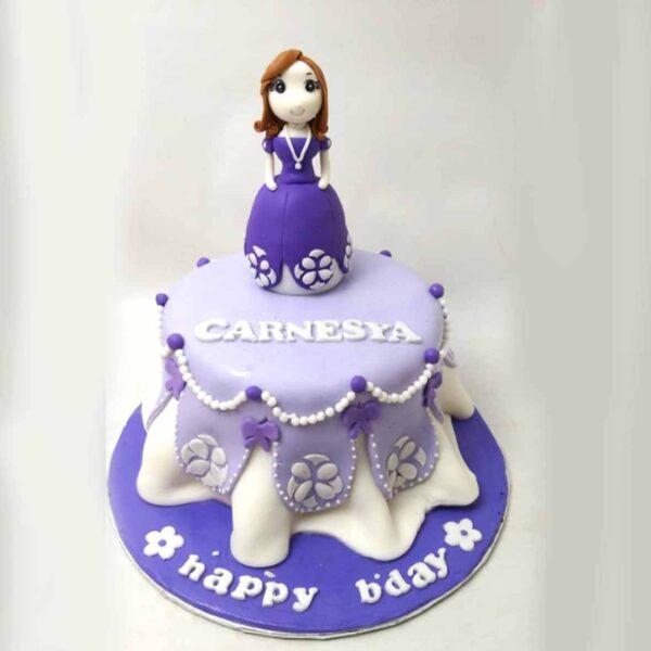 Purple Princess Cake Bandung