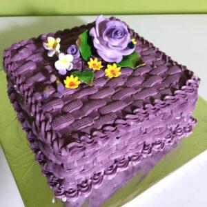 Purple Straw Cake Bekasi