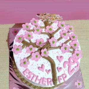 Sakura Petal Cake Bekasi