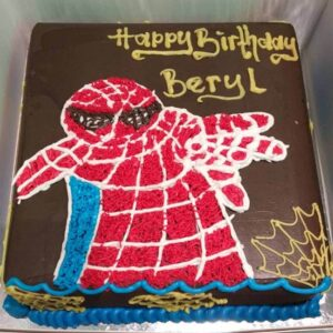 Spiderman Cake Bandung