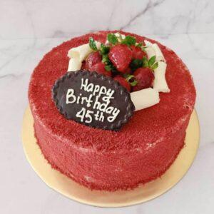 Strawberry Cake Semarang