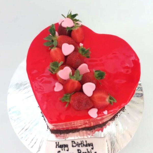 Strawberry Cake Yogya