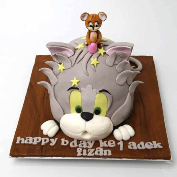 Tom Jerry Cake Bandung