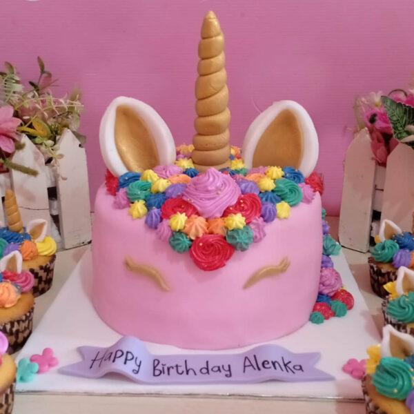 Unicorn Cake Bekasi