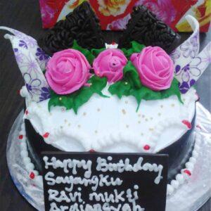 White Cream Cake Bali