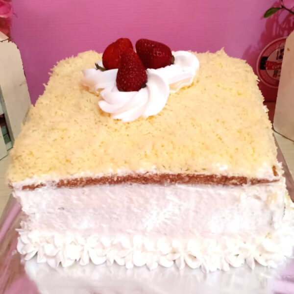 White Cream Cake Bekasi