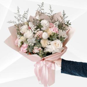 bunga buket mawar