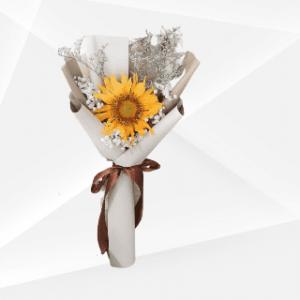 bunga buket matahari